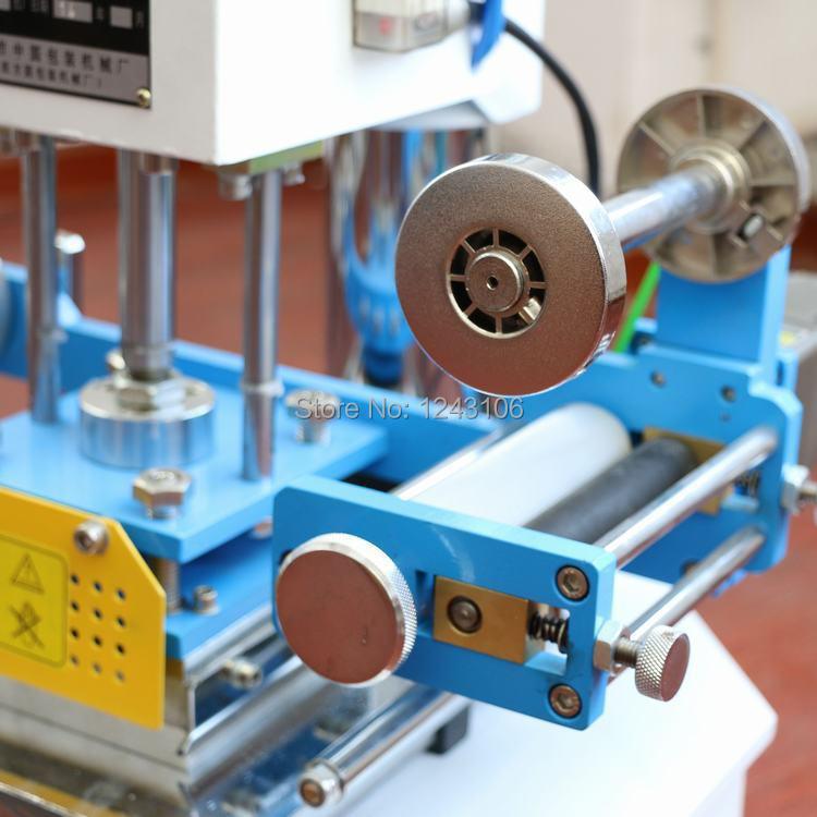 ZY-819H αυτόματη μηχανή σφράγισης, δέρμα - Τέχνες, βιοτεχνίες και ράψιμο - Φωτογραφία 2