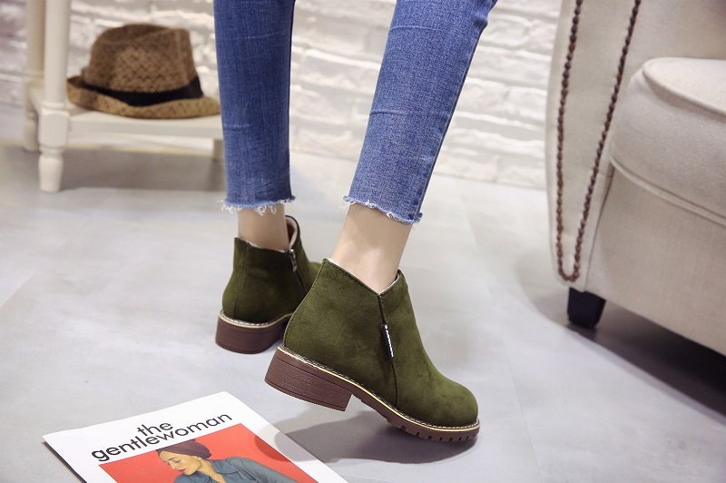 2018 new Boots Woman Shoes Winter Female Warm Fur Water-resistant Upper Fashion Non-slip Sole Free Shipping New Style Snow Boot (16)