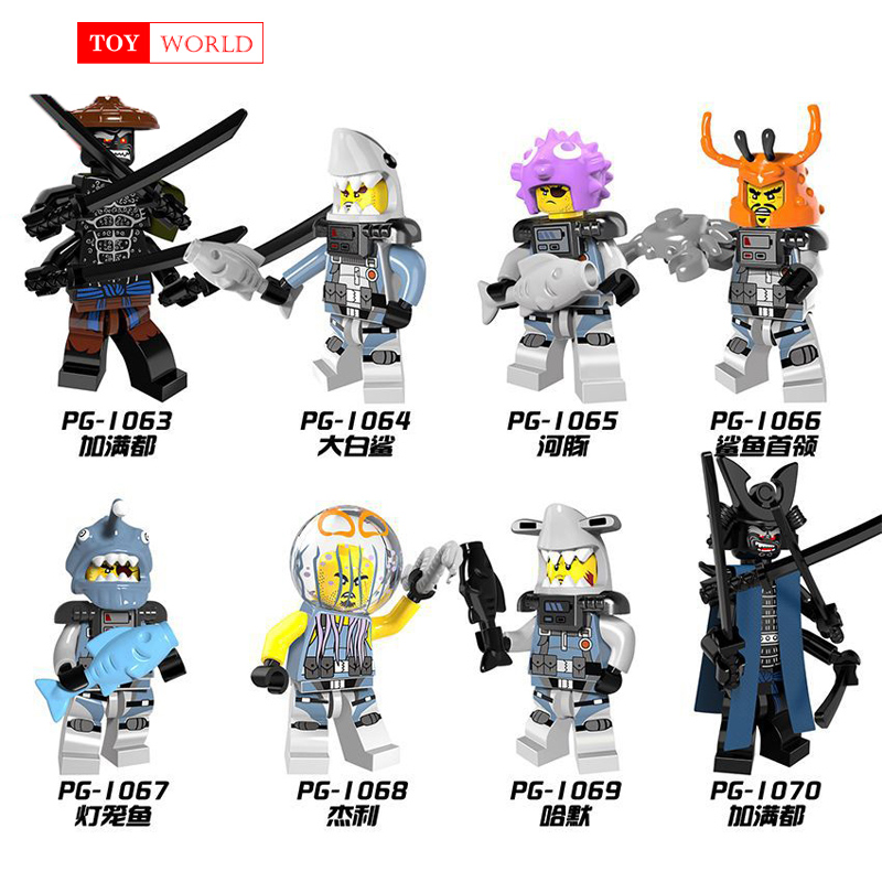 Hot Ninja Motorcycle Building Blocks Bricks toys Compatible legoINGly Ninjagoed Ninja for kids gifts Carmadon Kai Jay Zane Cole  1