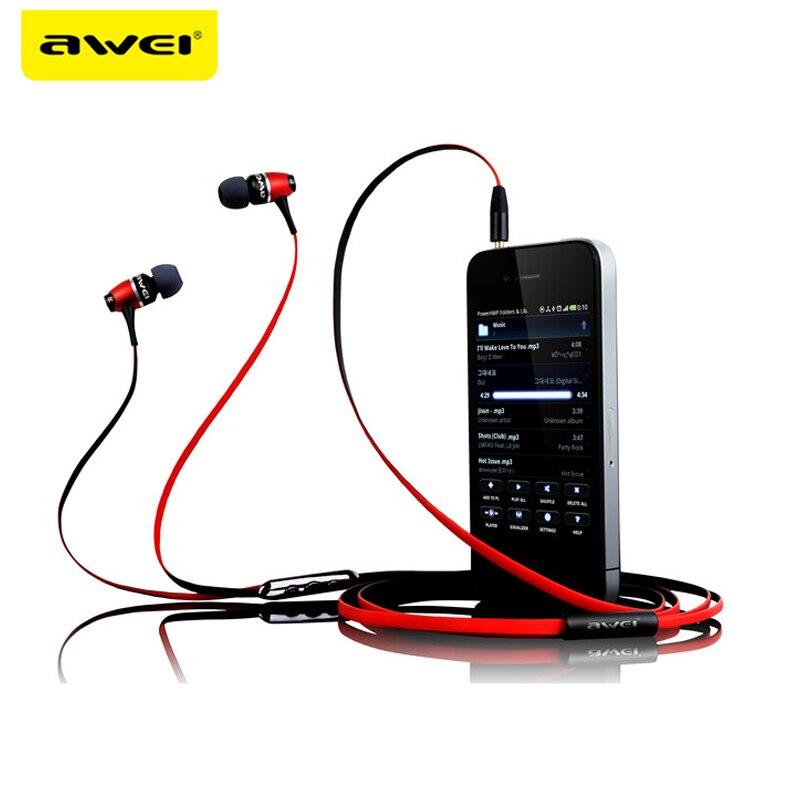 AWEI ES-80VI Metal Earphones AWEI ES-80VI Metal Earphones HTB1Y gziaagSKJjy0Fbq6y