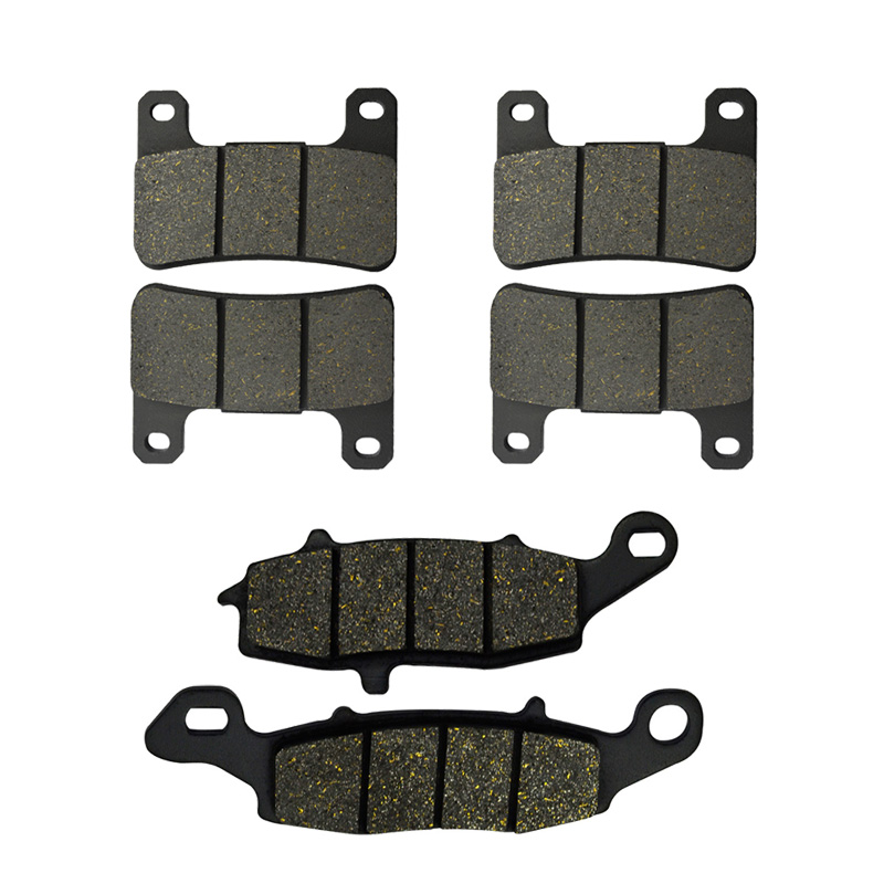 Motorcycle Discs Front & Rear Brake Pads For Suzuki VZR1800 K/ R/ Z Boulevard (06-14) M109R / R2 / VZR 1800 R Intruder (06-13) motorcycle front and rear brake pads for honda vt250fl spada castel 1988 1990