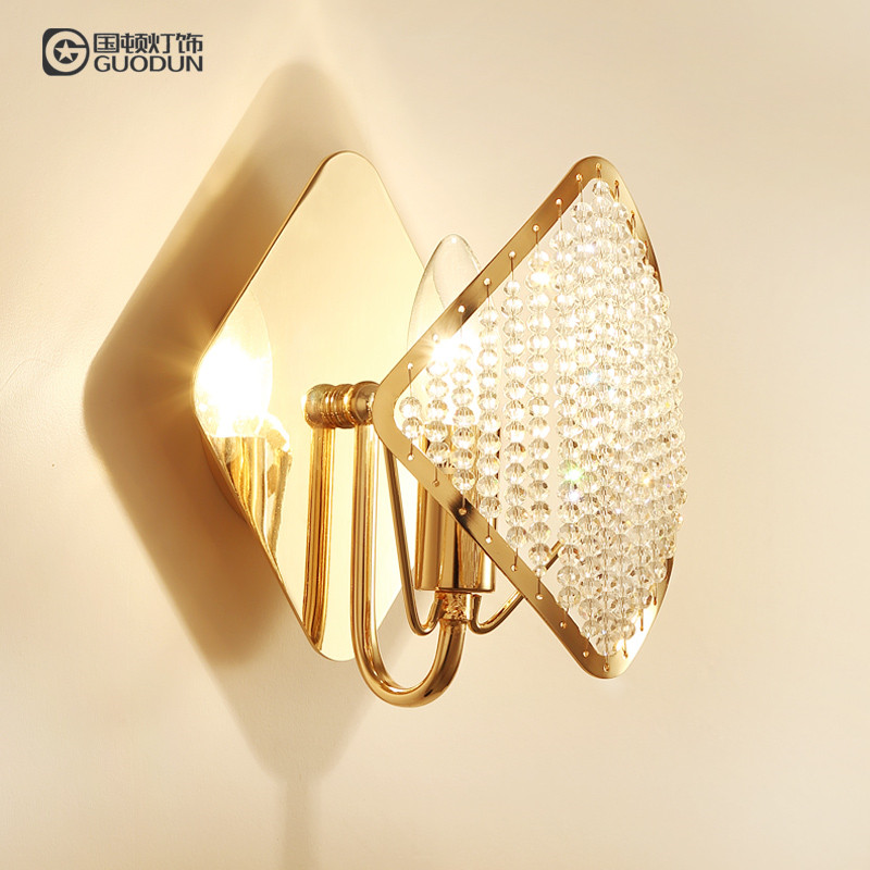 Modern Art High Grade Crystal Wall Lamp For Home Bedroom Living Room Decoration Indoor Lighting European Luxury Style new modern home decoration luxury european styl toothbrush tumbler