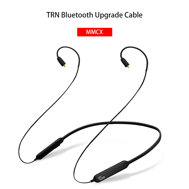 Open-Minded New Trn Bt3 Wireless Bluetooth 4.1 Apt-x Cable With 2pin Interface 2pin Connectors Strengthening Waist And Sinews Consumer Electronics