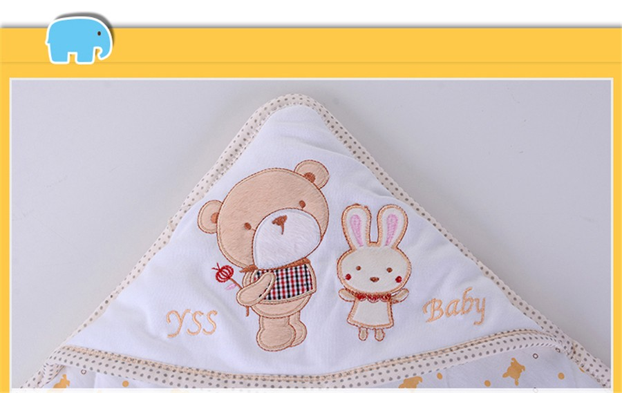 Baby Wrapped Blanket Warm Care (26)
