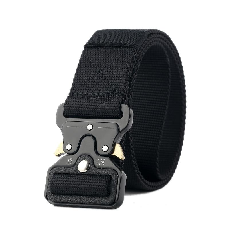 Drop Shipping Mens Tactical   Belt   Military Nylon   Belt   Outdoor multifunctional Training   Belt   Combat   Belts   Sturdy Waistband