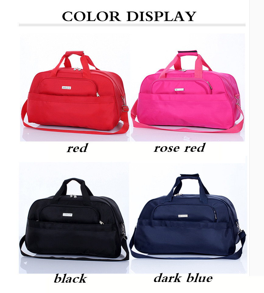 8b9a21287 Women's Travel Bags Tote Shoulder Bag Portable Men Handbags Big Weekend Bags  Travel luggage Large Capacity Bag