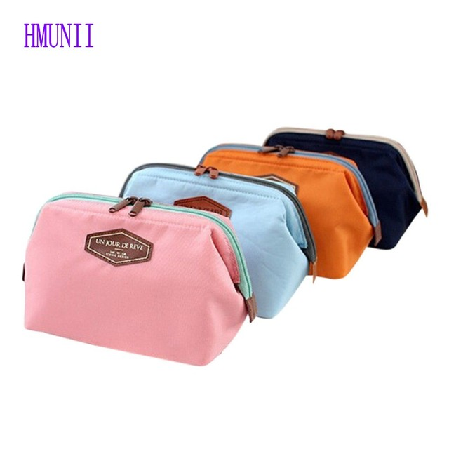 ee7e54127538 US $4.68 |New Fashion Women Cosmetic Travel Kit Organizer Makeup Bag Lady  Small Zipper Cosmetic Bag-in Cosmetic Bags & Cases from Luggage & Bags on  ...