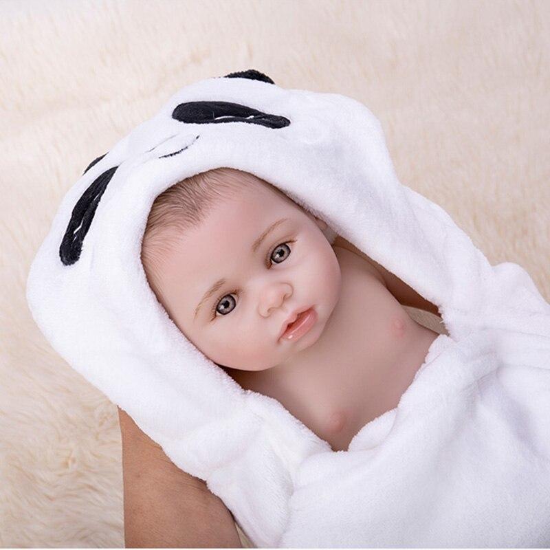 Bath Reborn, muñecos de bebé de cuerpo entero de silicona de vinilo para bebés recién nacidos, muñecas Boneca, juguetes Brinquedos para niños, regalos de cumpleaños - 2