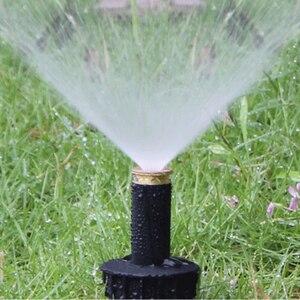 "Image 2 - 1PC 90 360 Degree Pop up Sprinklers Plastic Lawn Watering Sprinkler Head Adjustable Garden Spray Nozzle 1/2"" Female Thread"