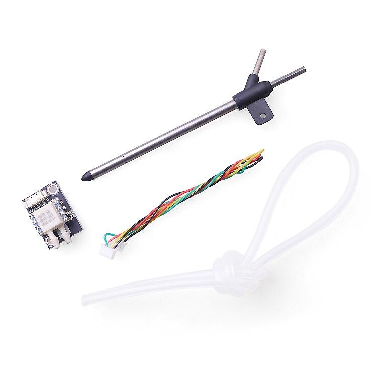 F19129/30 PX4 diferencial, velocidad de Pitot tubo + Tubo de Pitot Airspeedometer velocidad Sensor para Pixhawk PX4 controlador de vuelo