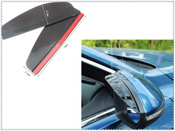 Car shape rearview mirror rain eyebrow sun shade personality sticker for Lexus UX RC ES RX NX LS LF-1 LC CT IS LX GS LF-SA image