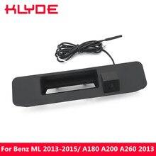 Ночное видение HD багажник Авто ручка заднего вида Обратный Парковка Камера для Mercedes-Benz ML 2013 2014 2015/A180 A200 A260 2013