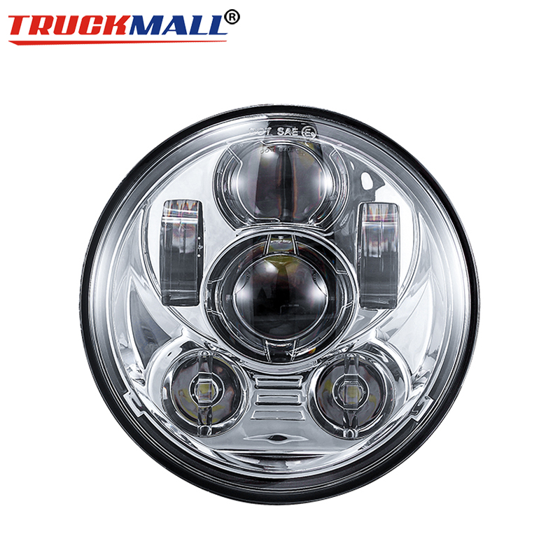 Motorcycle 5 75 LED Headlight Assembly For Iron 883 street bob 5 3 4Inch LED H4