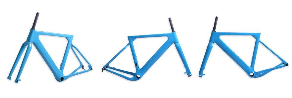 HTB1Y jWKXOWBuNjy0Fiq6xFxVXaf - 2018 New Cyclocross Frame Aero Road or Gravel Bike Frame S/M/L size Disc Bike Carbon frameset QR or thru axle
