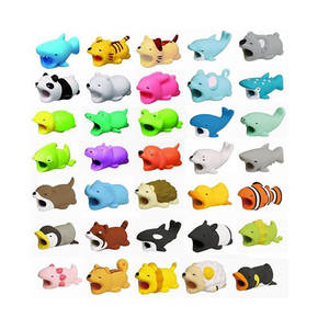 Cable-Protector Phone-Holder-Accessory Buddies Animal iPhone Cartoon 1pcs for Protege
