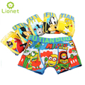 5 Pcs/lot Kids Boys Underwear Boy Underware Kawaii Cotton Children's Pants Soft Cartoon Baby Boxer Underpants Briefs 3-13 Year