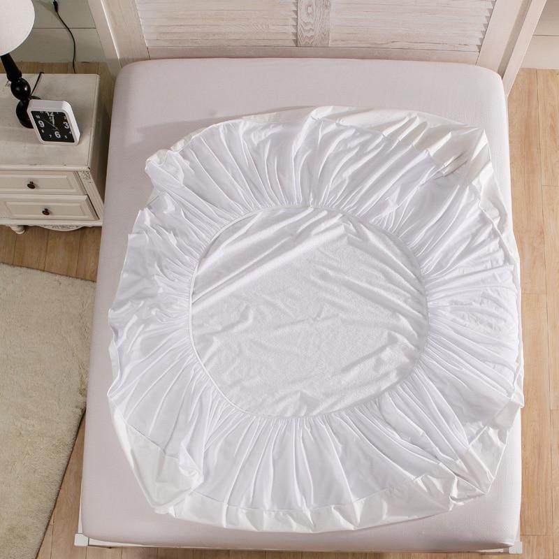 Terry Waterproof Size 160x200cm Bed Waterproof Cover Mattress