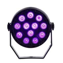 12 Вт фиолетовый 12 светодио дный звук активных светодио дный этап DMX512 бар свет для KTV вечерние диско DJ Показать музыка Вечерние свет Home