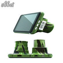 Best price FHD IR Night vision Infrared 4.5″ IPS Car DVR Camera Novatek 96655 1080P Dual camera Video Recorder Perspective night black box