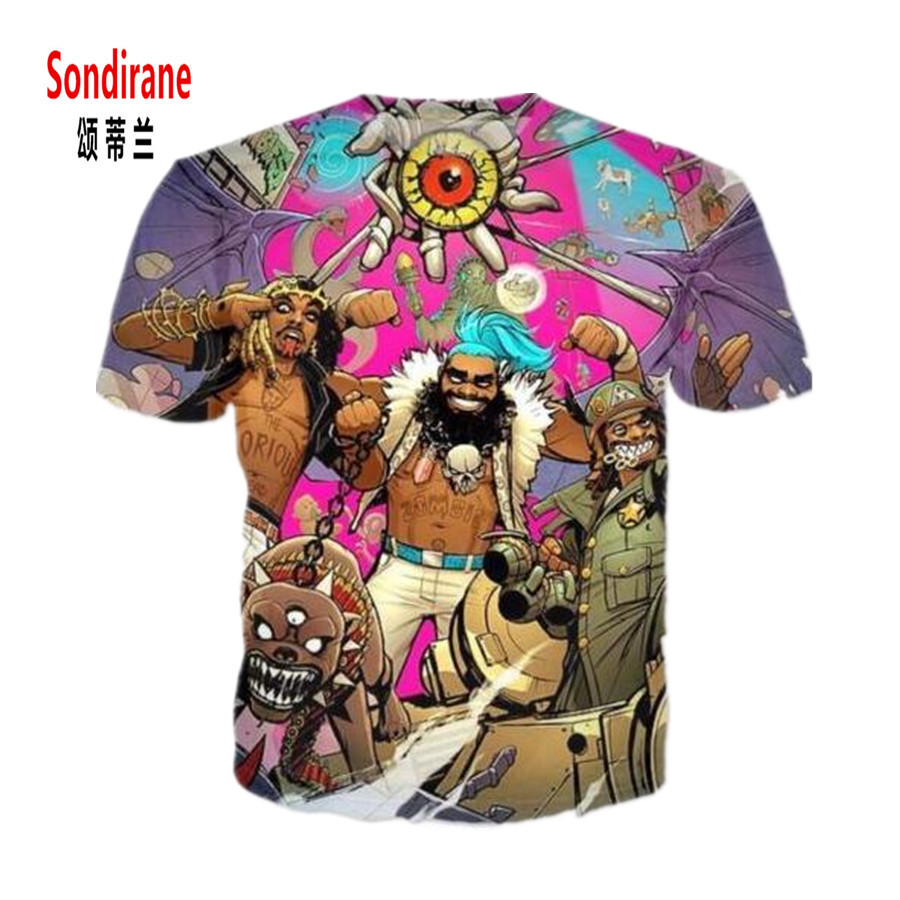 Detail Feedback Questions about Sondirane New Fashion Womens Mens FlatBush  Zombies Funny 3D Print Casual T Shirt Summer Short Sleeve Tops Comfortable  ... f8f93008517d