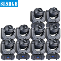 10pcs/lot DMX Gobo Projector 40W Moving Head lyre spot led DMX light 7colors&8fix gobo&6rotated gobo led 40w white high power