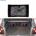 Universal Car Seat Back Storage Mesh Net Bag 40cm*25CM Car Styling Luggage Holder Pocket Sticker Trunk Organizer
