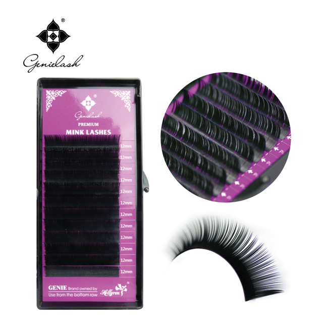 All Size 4 Cases J B C D Curl Individual Eyelashes Mink Eyelashes Extension Artificial Fake False Eyelashes