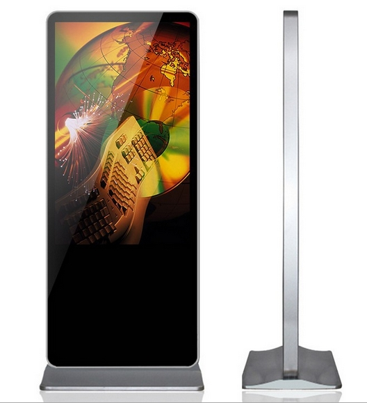 46''55''65 Inch Floor Stand 3g/wifi Lcd Player Advertising Lcd Ad Screen Display Diy Computer Pc/desktop