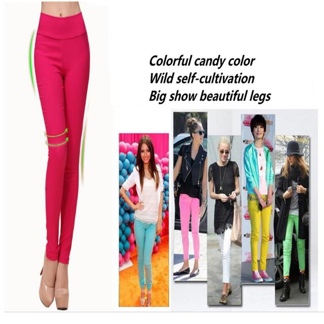6XL Plus Size Women Pants Slim High Waist Stretch Pencil Pants Skinny Elasticity Capris For Women Ladies Trousers Pantalon Femme
