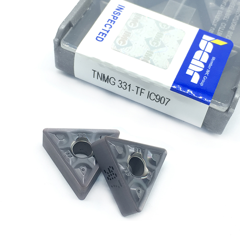 TNMG160404 TF IC907 / IC908 External Turning Tools Carbide insert TNMG 160404 Lathe cutter Tool Tokarnyy turning insert new 50pcs square ccgt060204 aluminium carbide insert turning cutter insert