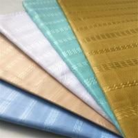 5 Colors African Nigerian Real Cotton Atiku Lace For Men Cloth Atiku Fabric 5 Yards One Piece Atiku Material For Men 30