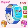 Оригинал Q80 GPS Tracker Дети Smart Watch Расположение Устройства SOS Сигнал Тревоги Smartwatch для Студент Ребенок Наручные Часы для IOS Android