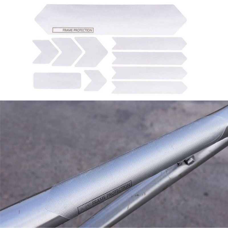 Image 5 - Bicycle Frame Scratch Resistant Protection Removable Stickers For Mountain Road Bike Guard Cover-in Car Stickers from Automobiles & Motorcycles