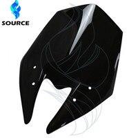 2015 New Motorcycle Accessories Windshield WindScreen Double Bubble Motorbike Wind Deflectors For Kawasaki Z800 2013 2014