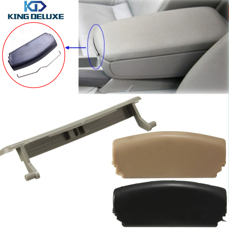 Black Beige Grey Car Center Console Arm Rest Cover Armrest Lid Latch Clip Catch with Spring For AUDI A4 B6 2002 - 2007 *P67 leather center console armrest cover lid fit for audi a4 b6 b7 2002 2003 2004 2005 2006 2007