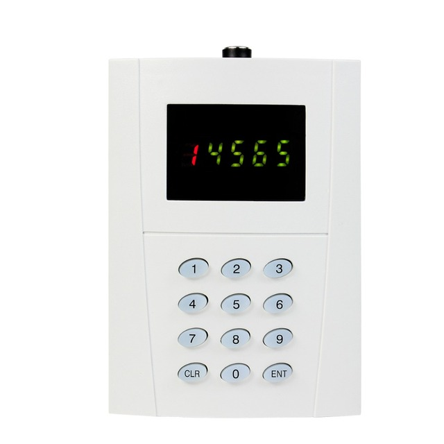 433 MHz Teclado Sem Fio Transmissor Tipo Botão do Transmissor para o Restaurante Do Hotel Sistema de Paginação Chamada Pager F3269D