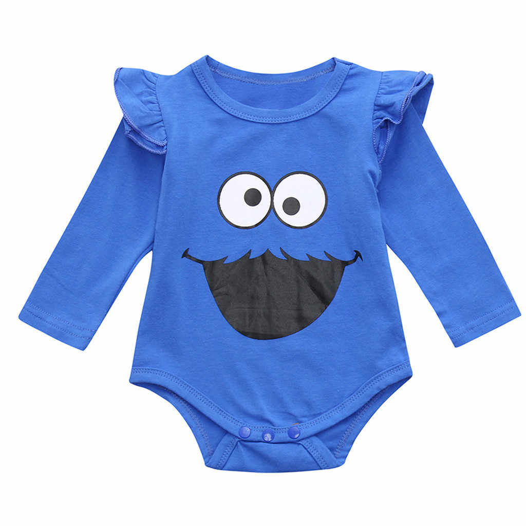 SZYADEOU Newborn Infant Toddler Baby jumpsuit Summer Romper baby Girls Boys Long Sleeve Cartoon meisje clothes Outfits Sets L5