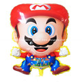 5pieces/lot 60*45cm Super Mario Balloons Super mary ballon Mario Bros baloon Kid Party toy Decoration Supplies
