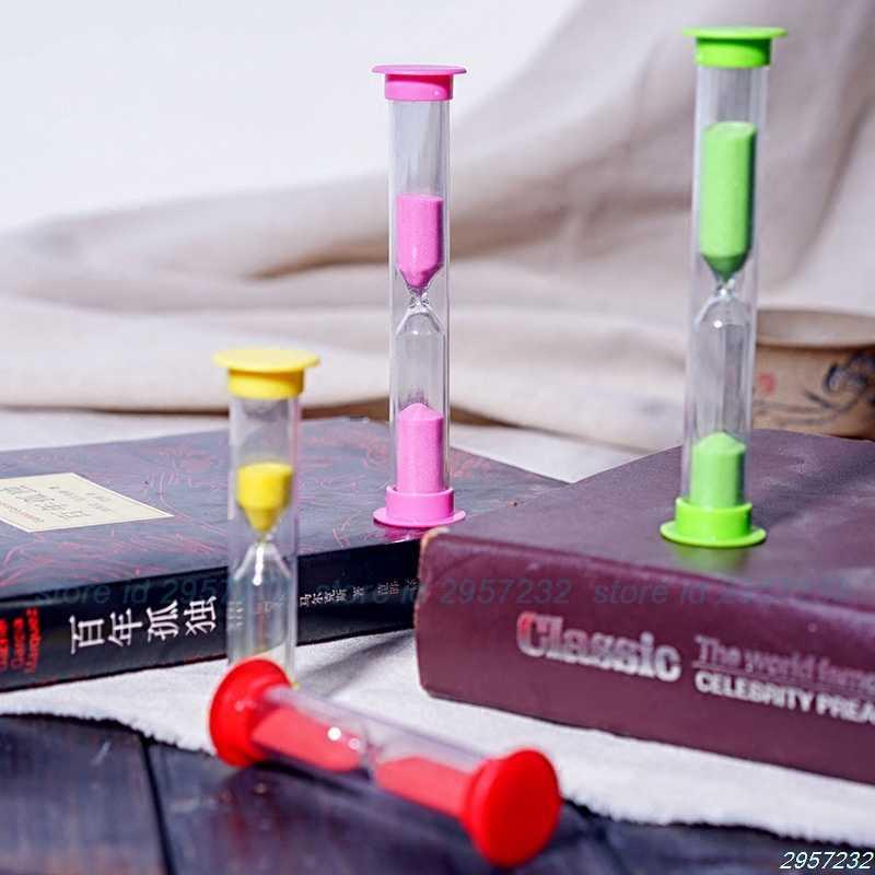 1 минуту Цвет ful песочные часы песочные таймер-часы разные цвета Z07 Прямая доставка