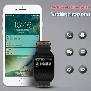 Image 3 - Wearpai W1C platz uhr led touchscreen herz rate überwachung blutdruck Schrittzähler fitness uhren Wasserdicht für Sport