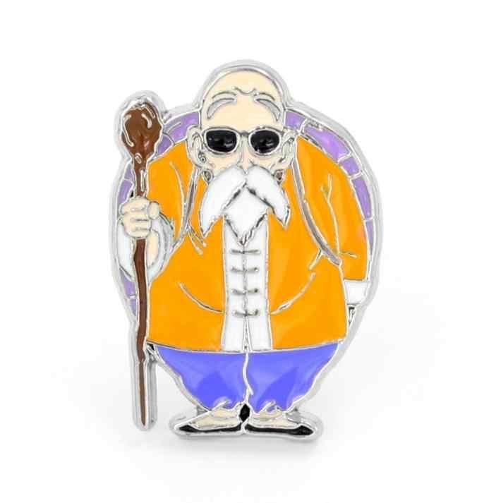 1 pc venda Quente Japonês Anime Dragon Ball cosplay Badges bonito Ícones na Mochila Pin Broche Emblema figura brinquedos presente
