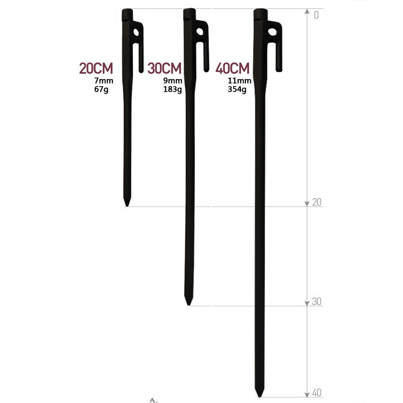 Outdoor Tool High hardness Spike C&ing Tent Peg Stake Nail Hiking 200mm Length 6 Pcs/lot-in Tent Accessories from Sports u0026 Entertainment on Aliexpress.com ...  sc 1 st  AliExpress.com & Outdoor Tool High hardness Spike Camping Tent Peg Stake Nail ...