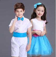 2017 summer Cute Girls Dress For Children's day Girl Dance Clothing Kids Ballet Costumes For Girls sleeveless Dance Dancewear