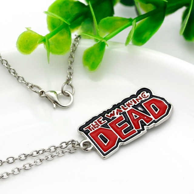 The Walking Dead Logo Pendant