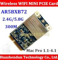 5 pcs Mac Pro Atheros AR5008 AR5418 AR5BXB72 802.11 a/b/g/n Wifi Sans Fil Mini PCI-E carte pour TOUS LES Mac Machine A1186 MA970