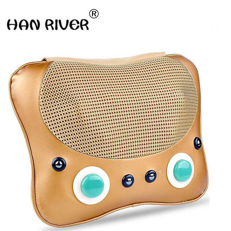 HANRIVER Move neck massager massage instrument body massage pillow multi-functional household cushion for leaning on, giftsHANRIVER Move neck massager massage instrument body massage pillow multi-functional household cushion for leaning on, gifts