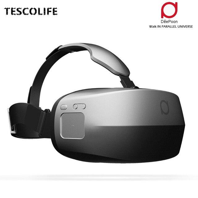 Очки виртуальной реальности deepoon настроить защита камеры белая для диджиай mavic combo
