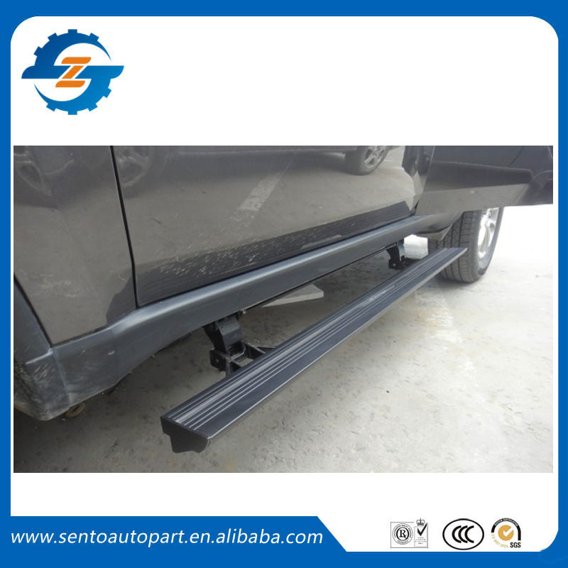 Hot sale Flexible aluminium alloy side step running board Electric pedal for Koleos 2017