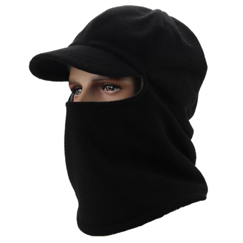 Winter Warm Motorcycle Wind Stopper Face Mask Neck Helmet beanies Cap For Men Women Bicycle Thermal Fleece Balaclava Hat