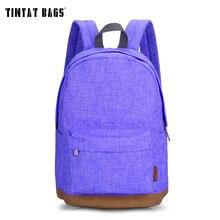 TINYAT Leinwand Schule Rucksack Student Casual Frauen Männer rucksäcke für teenager Laptop Rucksäcke für mädchen Reisetasche T101 Mochia